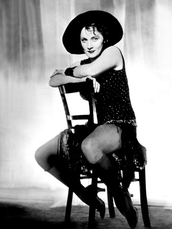 Blue Angel, Marlene Dietrich, 1930 Photo