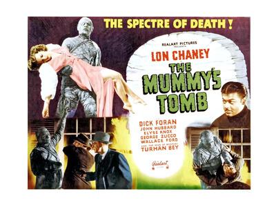The Mummy's Tomb, Elyse Knox, Lon Chaney Jr., Turhan Bey, Lon Chaney Jr., 1942 Photo