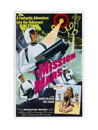 Mission Mars, Darren McGavin, 1968 Photo