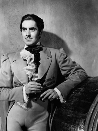 The Mark of Zorro, Tyrone Power, 1940 Photo