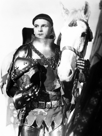 Henry V, Laurence Olivier, 1944, with Horse Photo