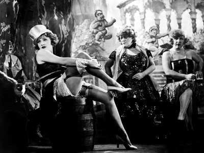 The Blue Angel, Marlene Dietrich, Rosa Valetti, 1930 Photo