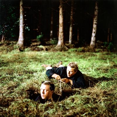 The Great Escape, Richard Attenborough, Steve McQueen, 1963 Photo
