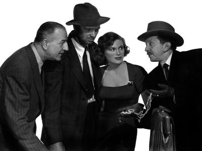 The Asphalt Jungle, Louis Calhern, Sterling Hayden, Jean Hagen, Sam Jaffe, 1950 Photo
