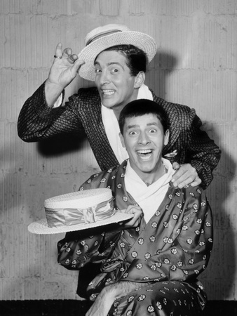 The Colgate Comedy Hour, Dean Martin, Jerry Lewis, (1955), 1950-55 Photo