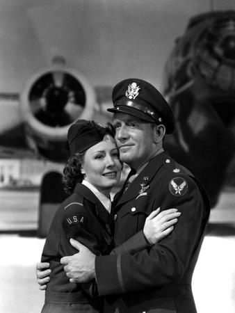 A Guy Named Joe, Irene Dunne, Spencer Tracy, 1943 Photo