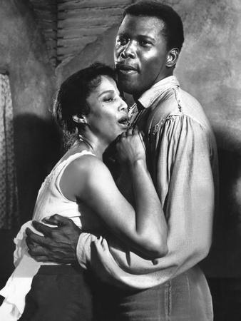 Porgy And Bess, Dorothy Dandridge, Sidney Poitier, 1959 Photo