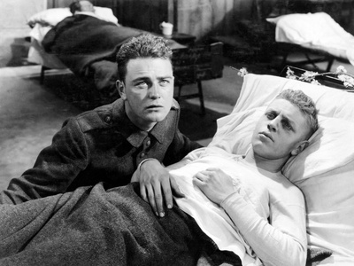 All Quiet On The Western Front, Lew Ayres, Ben Alexander, 1930 Photo