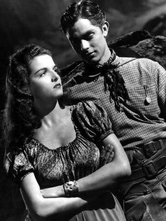 The Outlaw, Jane Russell, Jack Buetel, 1943 Foto