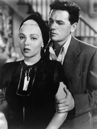 The Postman Always Rings Twice, Lana Turner, John Garfield, 1946 Photo