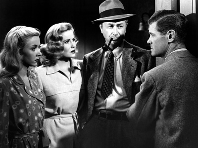 Crossfire, Gloria Grahame, Jacqueline White, Robert Young, Paul Kelly, 1947 Photo