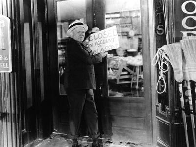 It's A Gift, W.C. Fields, 1934 Photo