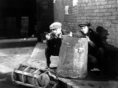 The Public Enemy, James Cagney, Edward Woods, 1931 Photo