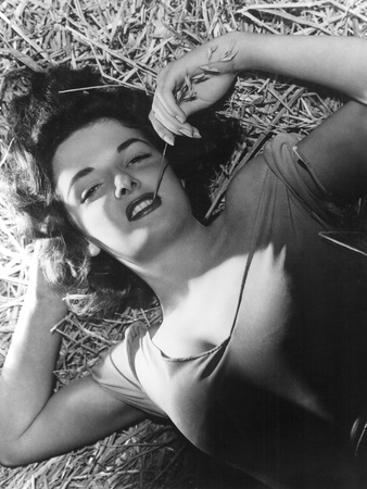 The Outlaw, Jane Russell, 1943, Photo By George Hurrell Foto