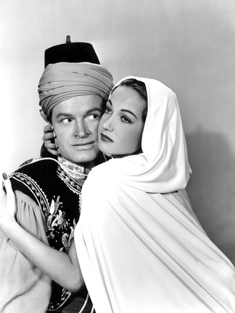 Road To Morocco, Bob Hope, Dorothy Lamour, 1942 Photo