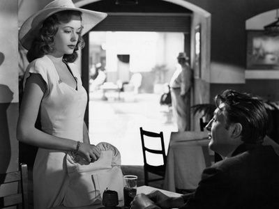 Out Of The Past, Jane Greer, Robert Mitchum, 1947 写真