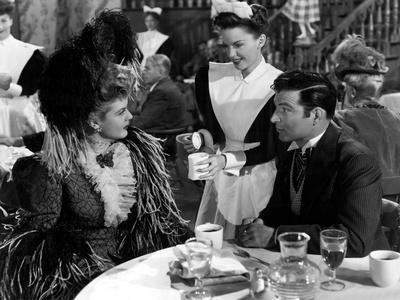 The Harvey Girls, Angela Lansbury, Judy Garland, Stephen McNally, 1946 Foto