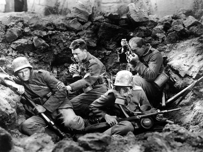 All Quiet On The Western Front, Ben Alexander, Lew Ayres, Louis Wolheim, 1930 Photo