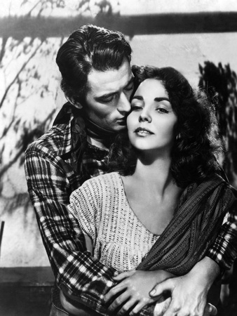 Duel In The Sun, Gregory Peck, Jennifer Jones, 1946 Foto