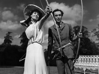 Kind Hearts And Coronets, Valerie Hobson, Dennis Price, 1949 Foto