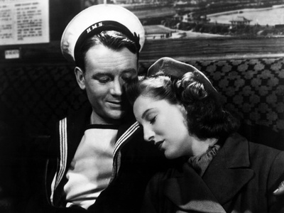 In Which We Serve, John Mills, Kay Walsh, 1942 Photo