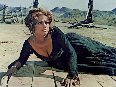 Once Upon A Time In The West, Claudia Cardinale, 1968 Photo