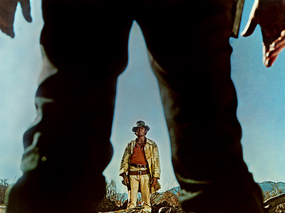 Once Upon A Time In The West, Charles Bronson, Henry Fonda, 1968 Photo