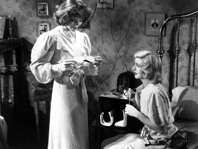 Stage Door, Katharine Hepburn, Ginger Rogers, 1937 Photo