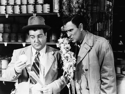 Hold That Ghost, Lou Costello, Bud Abbott, 1941 Photo