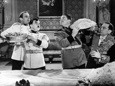 The Great Dictator, Henry Daniell, Charlie Chaplin, Jack Oakie, Carter Dehaven, 1940 Photo