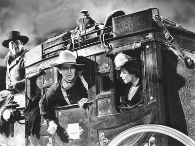Stagecoach, George Bancroft, John Wayne, Louise Platt, 1939, On The Stagecoach Photo