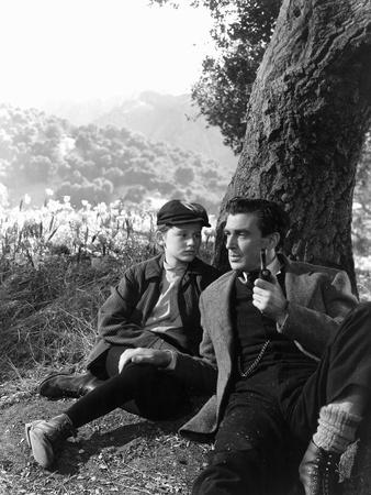 How Green Was My Valley, Roddy McDowall, Walter Pidgeon, 1941 Photo