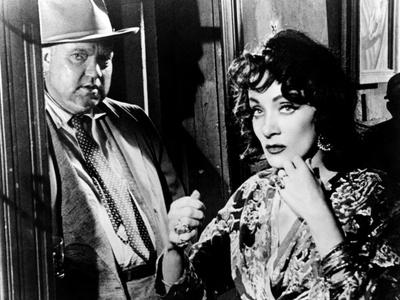 Touch Of Evil, Orson Welles, Marlene Dietrich, 1958 Foto