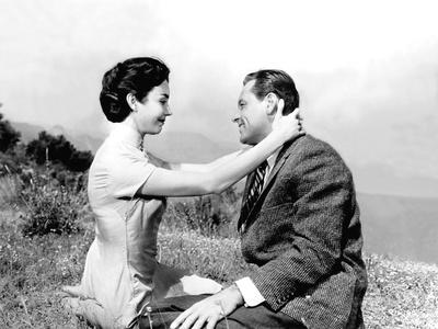 Love Is A Many-Splendored Thing, Jennifer Jones, William Holden, 1955 Photo