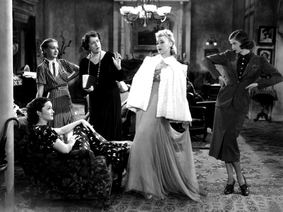 Stage Door, Gail Patrick, Constance Collier, Ginger Rogers, Lucille Ball, 1937 Photo