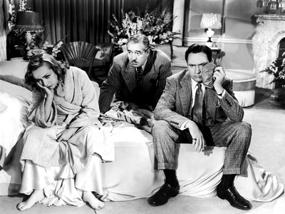 Nothing Sacred, Carole Lombard, Walter Connelly, Fredric March, 1937, Fight Aftermath Photo