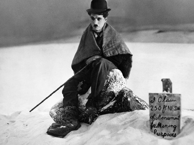 The Gold Rush, Charlie Chaplin, 1925 Photo