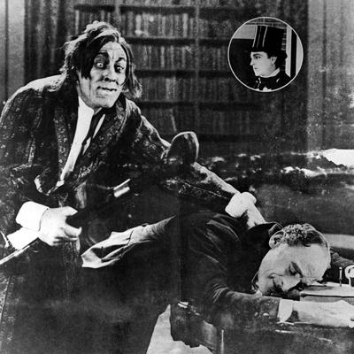 Dr. Jekyll And Mr. Hyde, John Barrymore, Brandon Hurst, 1920 Photo