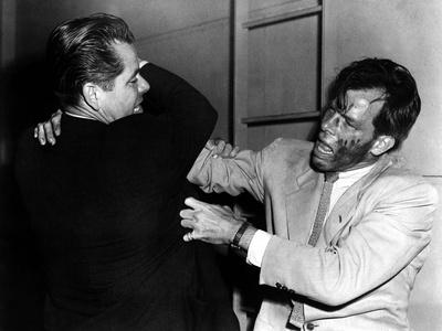 The Big Heat, Glenn Ford, Lee Marvin, 1953 Photo