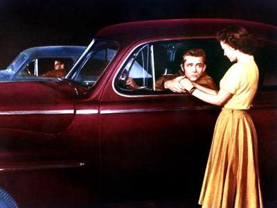 Rebel Without A Cause, Corey Allen, James Dean, Natalie Wood, 1955 Photo