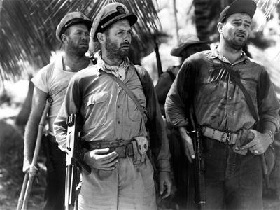 They Were Expendable, Ward Bond, Robert Montgomery, John Wayne, 1945 Photo