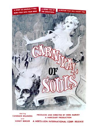 Carnival Of Souls, Candace Hilligoss, 1962 Photo