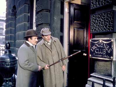 The Private Life Of Sherlock Holmes, Colin Blakely, Robert Stephens, 1970 Photo