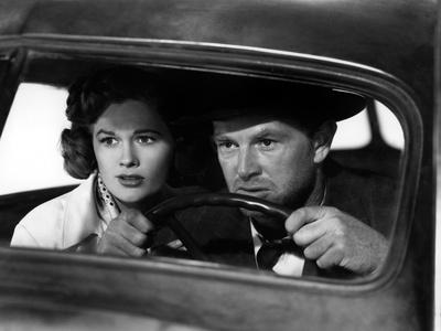The Asphalt Jungle, Jean Hagen, Sterling Hayden, 1950 Photo