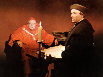 A Man For All Seasons, Orson Welles, Paul Scofield, 1966 Photo