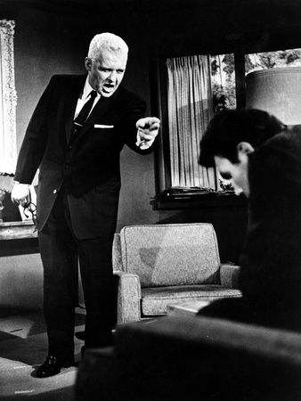 The Big Knife, Rod Steiger, Jack Palance, 1955 Photo