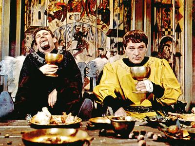 Becket, Peter O'Toole, Richard Burton, 1964 Photo