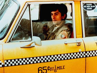 Taxi Driver, Robert De Niro, 1976 Foto