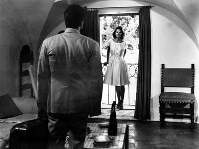 L'Avventura, Gabriele Ferzetti, Lea Massari, 1960 Photo