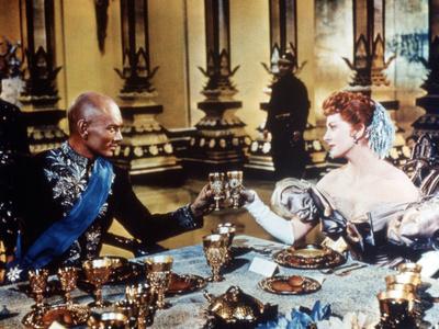 The King And I, Yul Brynner, Deborah Kerr, 1956 Photo